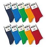 10 Paar Socken von Mat & Vic's für Sie und Ihn - Cotton classic bequem...