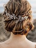 Handmadejewelrylady Kopfschmuck Braut-Haarschmuck für Damen, zur Hochzeit,...
