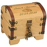 Geschenke 24 Holz-Schatztruhe Hochzeit...