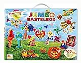 folia 50915/1 - Jumbo Bastelkoffer mit 107 Teilen, riesige Auswahl an...
