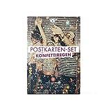 VISUAL STATEMENTS 20er Postkarten Set LIEBE, FREUNDSCHAFT; GLÜCKSBRINGER...