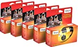 TopShot Einwegkamera mit 27 Fotos + eingebautem Blitz Einwegkamera Paket...