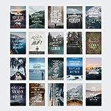 VISUAL STATEMENTS® 20er Postkarten Set LIEBE, FREUNDSCHAFT; GLÜCKSBRINGER...