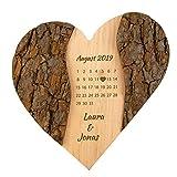 Geschenke 24 Holz Herz Schönster Tag:...