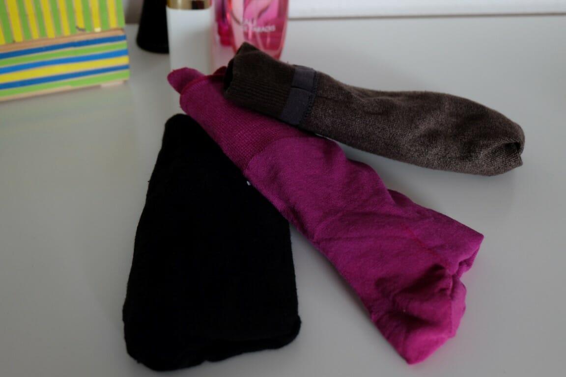 Farbige Socken zum Hochzeitsanzug