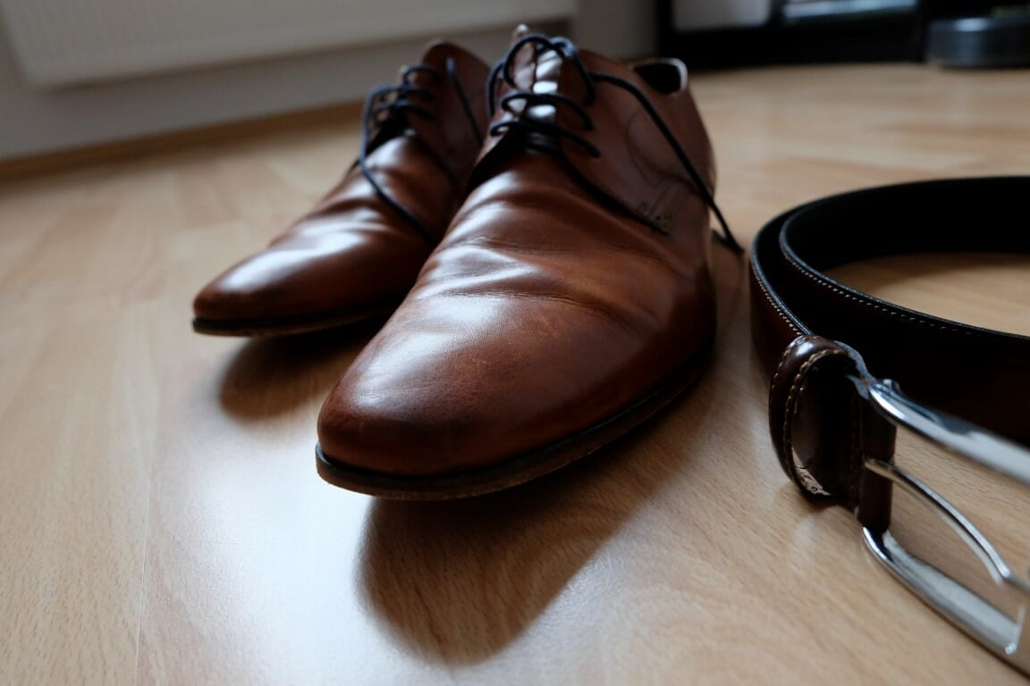 Passender Gürtel zu den Schuhen
