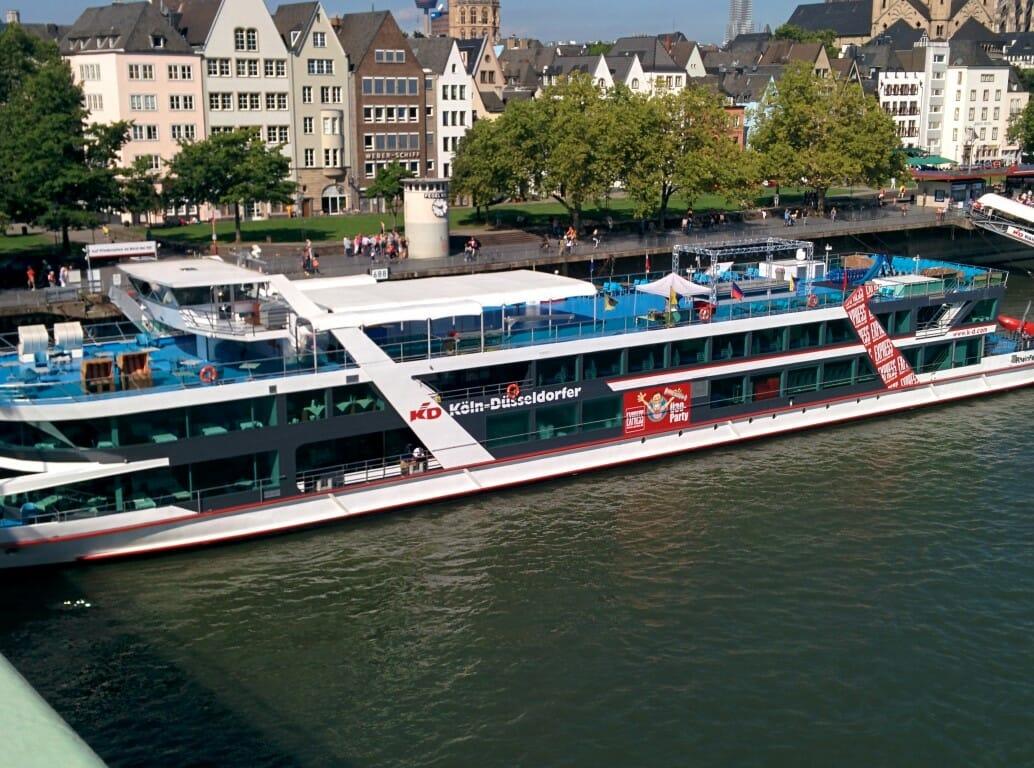 Partyboot Köln-Düsseldorfer