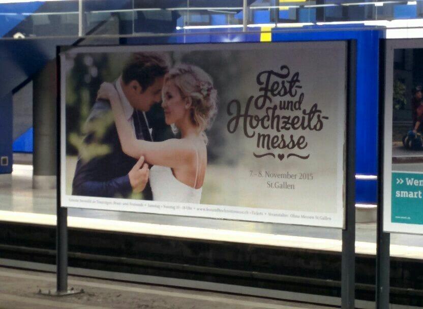 Hochzeits-Messe in St. Gallen